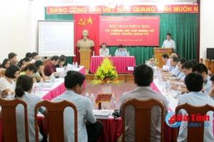 Tư tưởng Hồ Chí Minh về phát triển kinh tế góp phần thúc đẩy CNH-HĐH